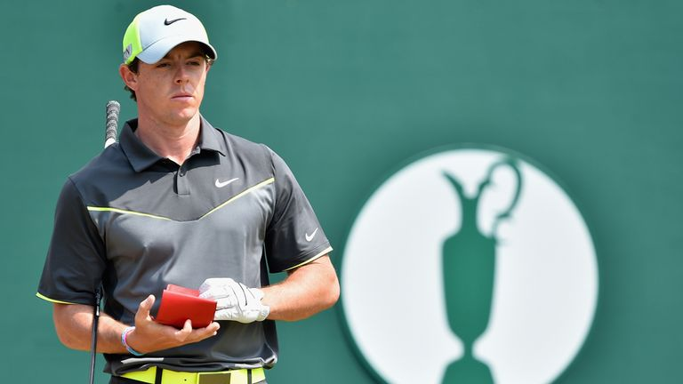 Rory McIlroy: Four shots clear