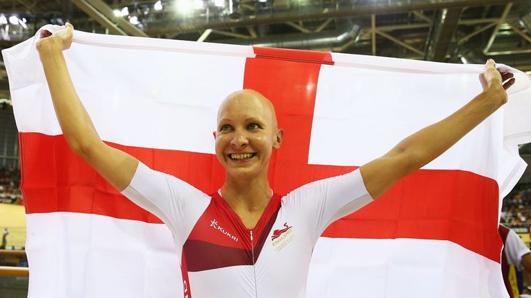Joanna Rowsell dominated the final from start to finish