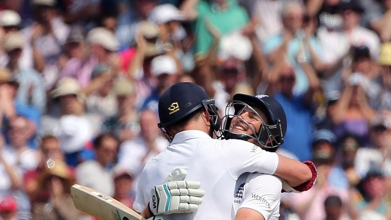 James Anderson and Joe Root: Shared 198-run stand in Nottingham