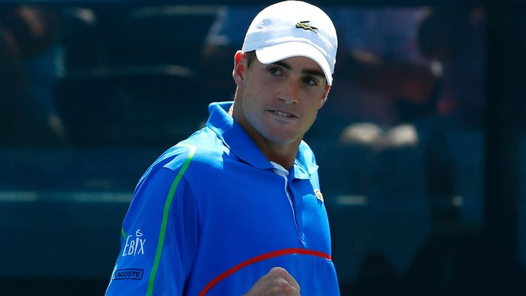 John Isner: The American is on course to claim his ninth career title