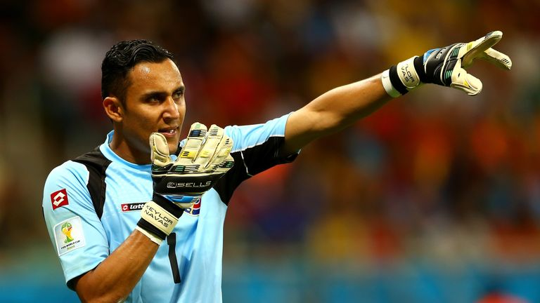 Keylor Navas: Attracting interest after impressing for Costa Rica