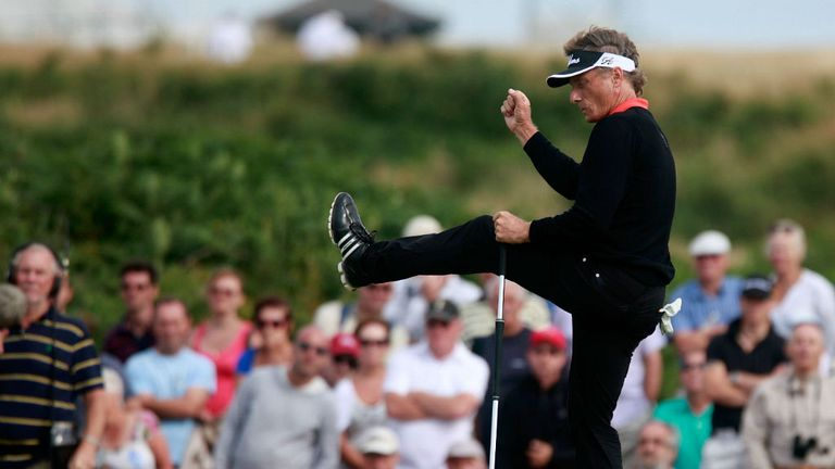 Bernhard Langer: Senior Open champion