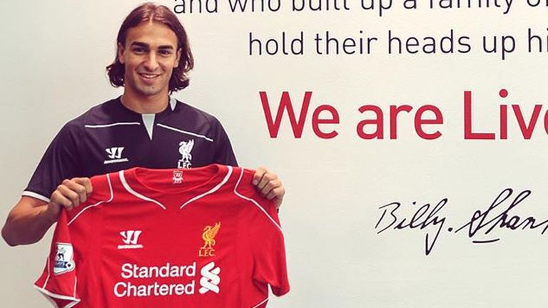Lazar Markovic has become Liverpool's fourth signing of the summer