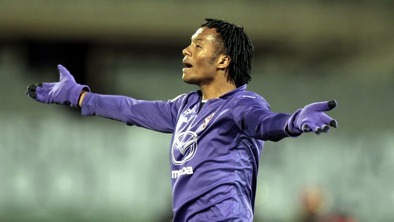 Juan Cuadrado: Linked with moves away from Fiorentina this summer