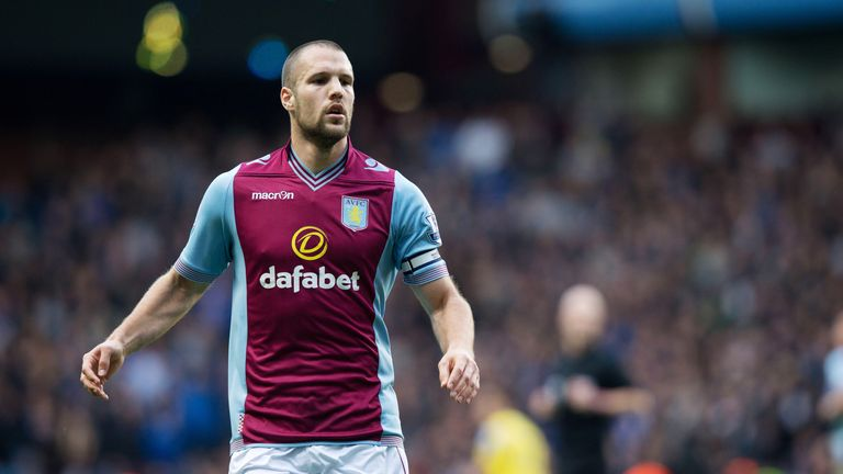 Ron Vlaar: Set for talks with manager Paul Lambert over his future at the club