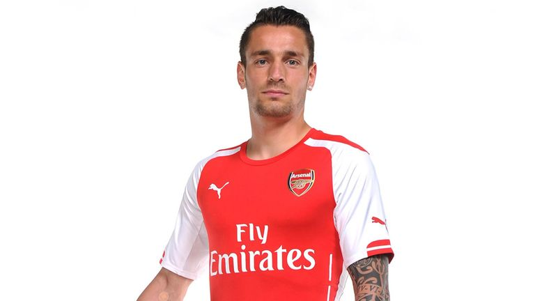 Mathieu Debuchy says he is proud to be joining Arsenal