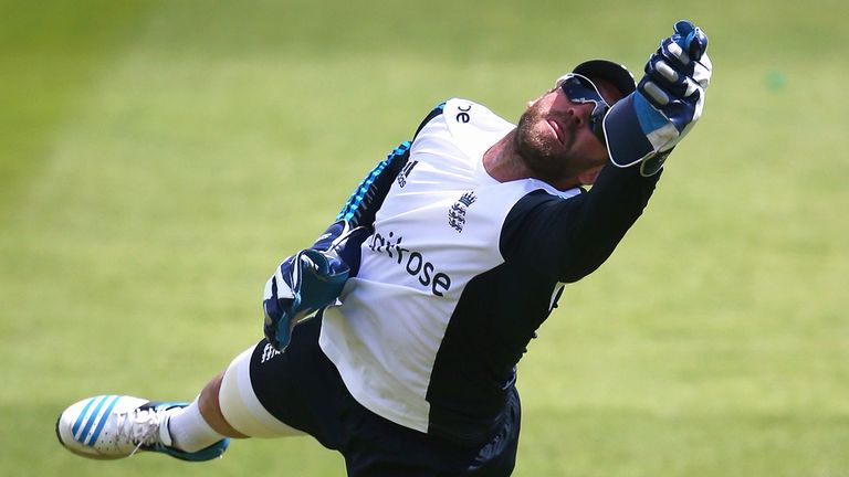 Matt Prior took a full part in training on Tuesday