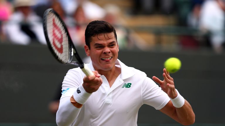 Milos Raonic: 39 aces in win over Nick Kyrgios