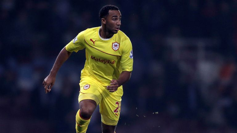 Nicky Maynard: Determined to make his mark at Cardiff