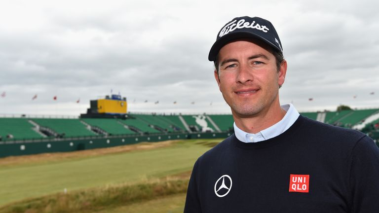 Adam Scott: Ready to win his first Open