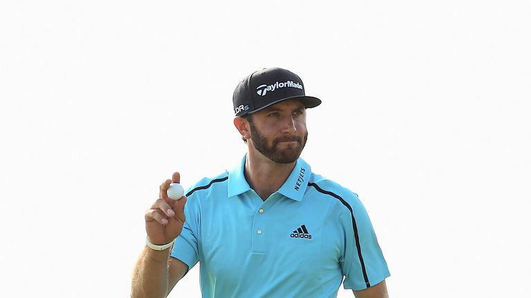 Dustin Johnson: Making it look easy