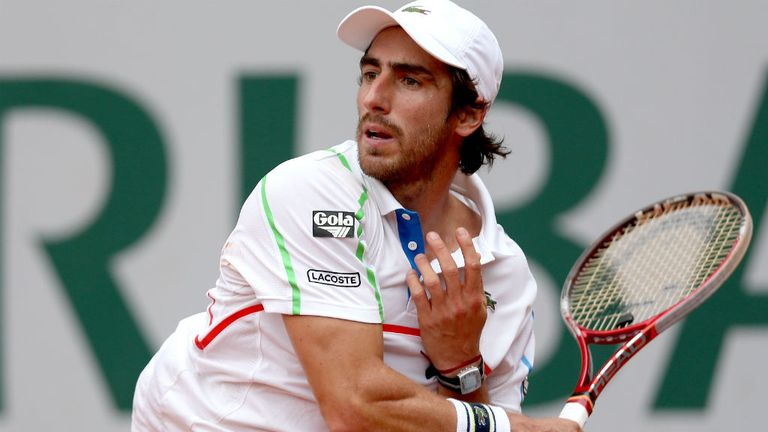 Pablo Cuevas of Uruguay triumphed over ​fourth seed Jeremy Chardy in Bastad