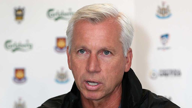 Alan Pardew: Needs team to gel