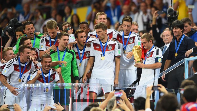 Philipp Lahm: World Cup winning captain calling time on his Germany career