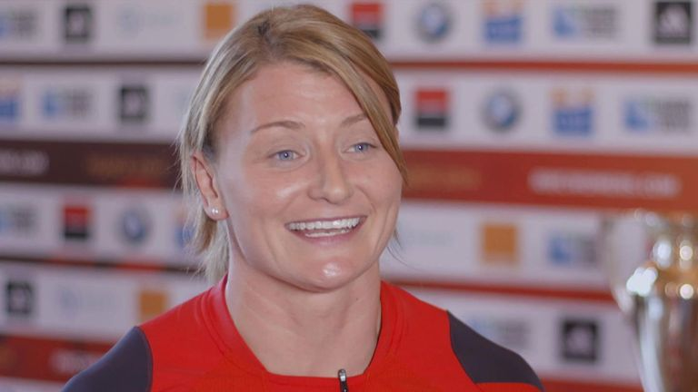 Rachel Taylor: Looking forward to World Cup challenge