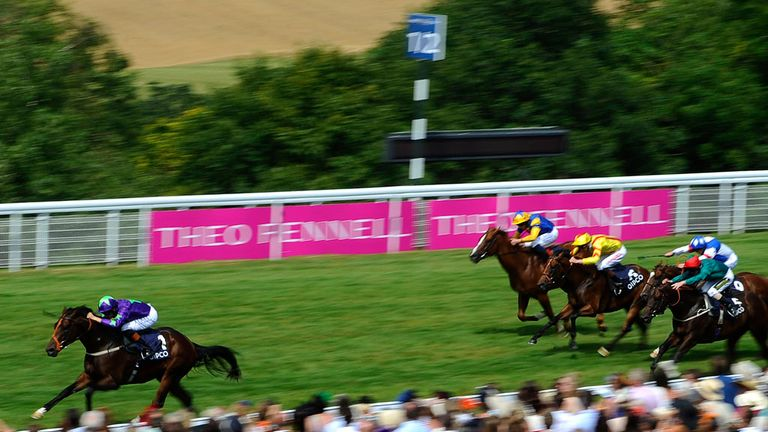 Ivawood streaked home at Goodwood; the Middle Park looks to be next on the agenda
