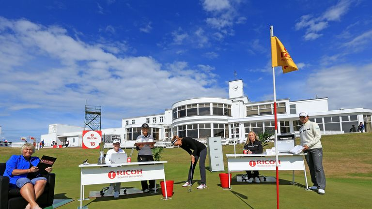 Some of the stars taking part at Royal Birkdale this week