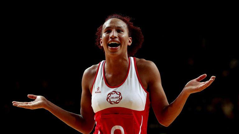 Serena Guthrie: the England star will make her ANZ Championship debut for Northern Mystics next season