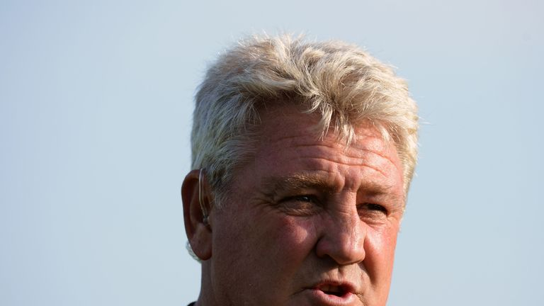 Steve Bruce: Predicts a tough season ahead