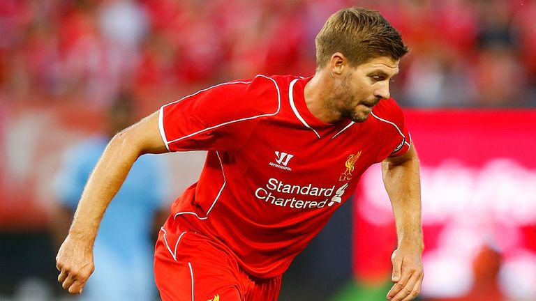 Steven Gerrard: Liverpool captain has entered the final year of his deal