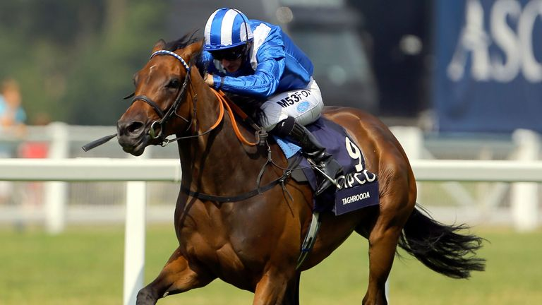 Taghrooda wins the King George VI and Queen Elizabeth Stakes