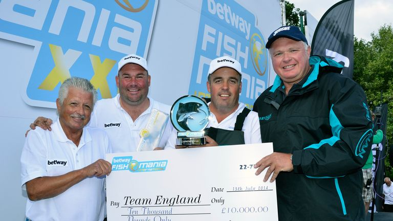 Team England won the Fish 'O' Mania International title