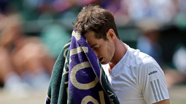 Andy Murray lost in straight sets to Grigor Dimitrov