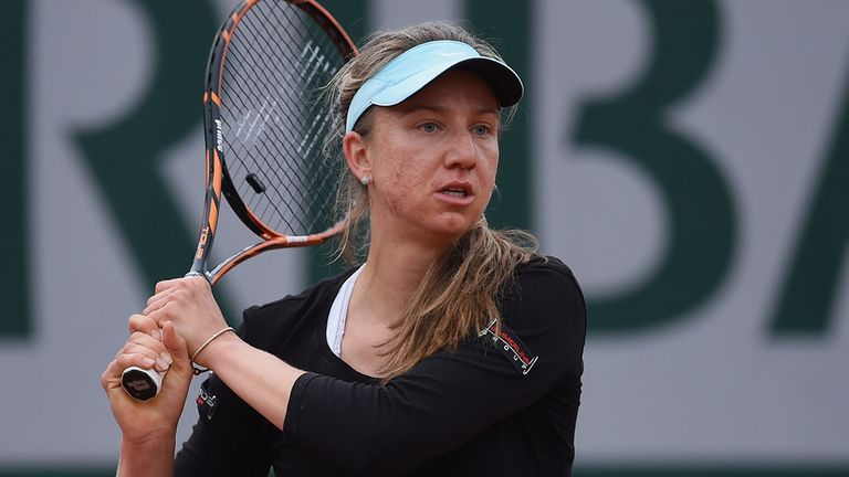 Mona Barthel: The German beat Kaia Kanepi to reach last-four