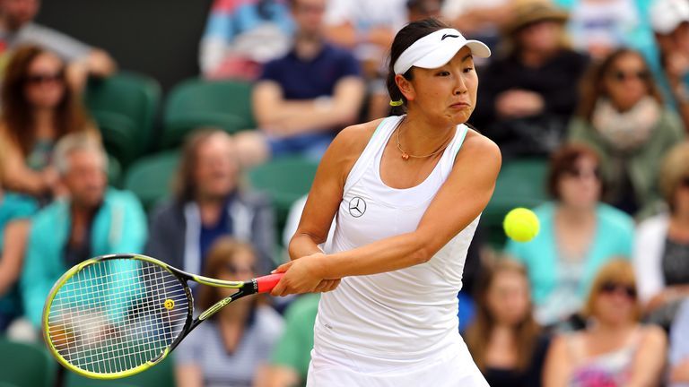 Peng Shuai: World number 50 had to work hard for victory