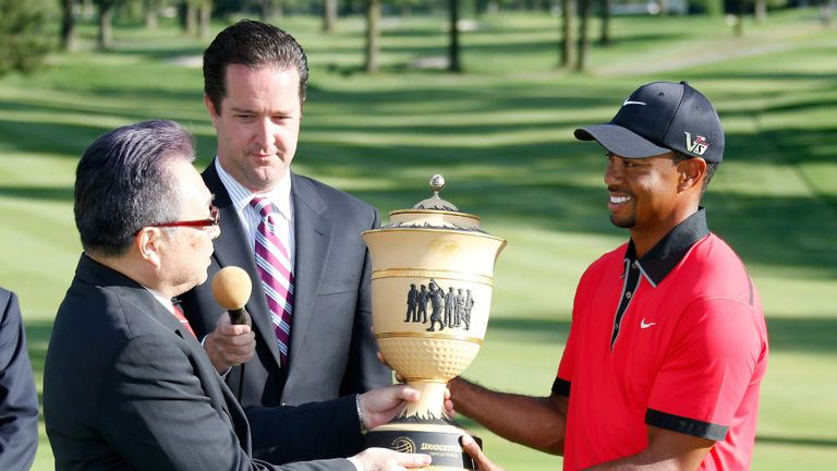 Defending champion Tiger Woods has won on no fewer than eight occasions at Firestone CC