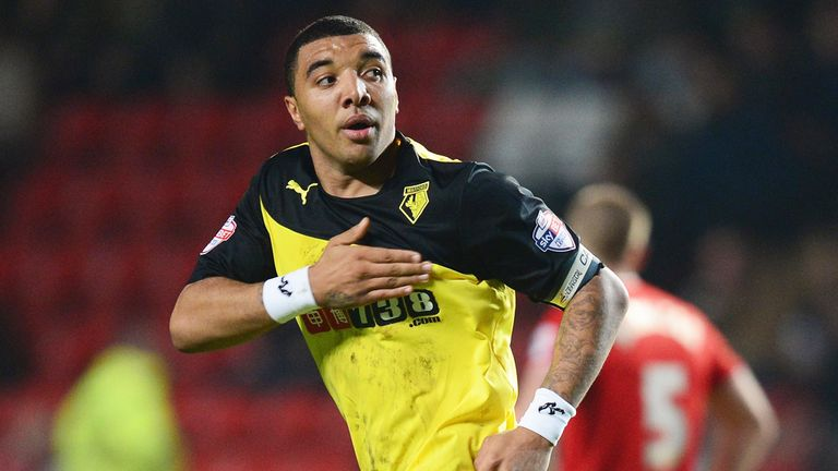 Troy Deeney: On target again in Watford win