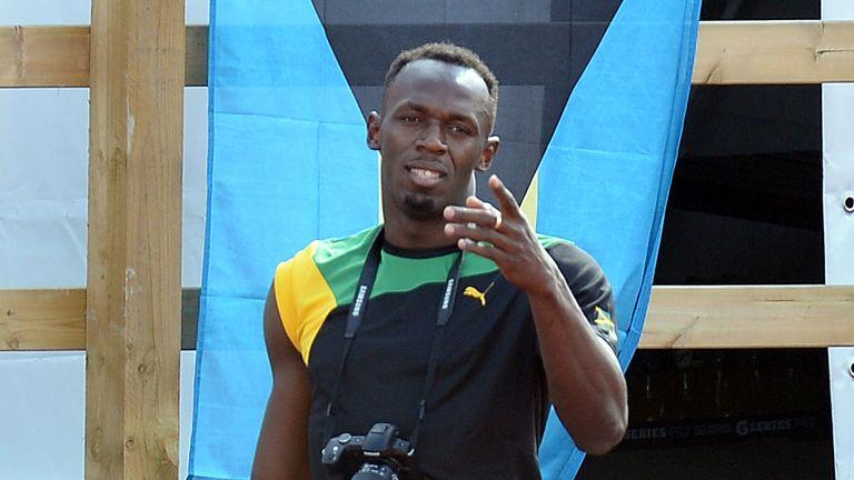 Usain Bolt: Set to run relay heats