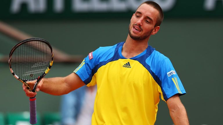 Viktor Troicki returned to the ATP Tour on Monday following a one-year ban