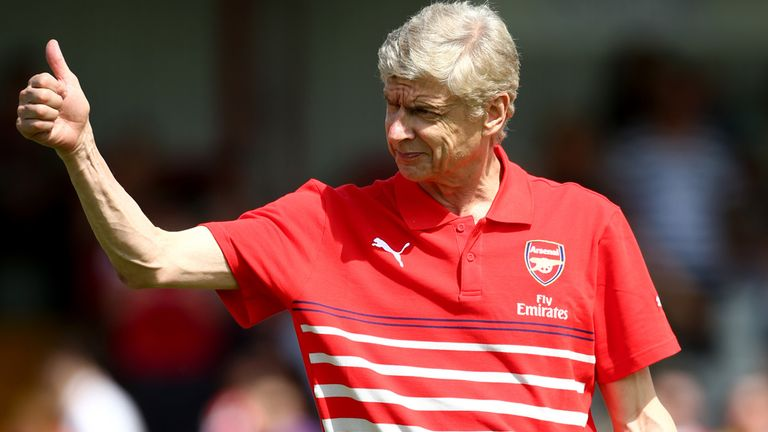 Arsene Wenger: Everton provide a good yardstick for his side