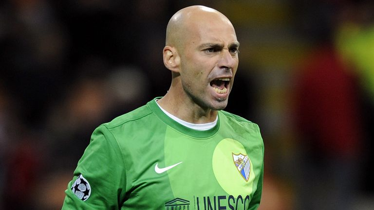 Willy Caballero: Has signed a three-year deal with Manchester City