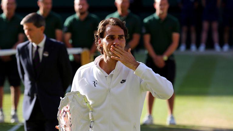 Roger Federer: hit 75 winners but still came up short