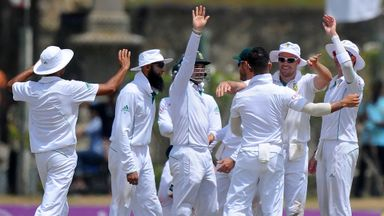 South Africa claimed a 153-run victory over Sri Lanka in the first Test