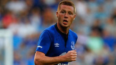 James McCarthy: Happy at Everton and relishing competition for places