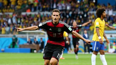 Miroslav Klose: Made World Cup history for Germany
