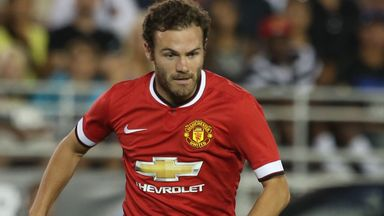 Juan Mata: Relishing opportunity to play more centrally