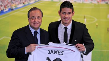 James Rodriguez was Real Madrid