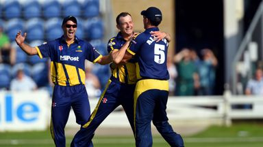 Graham Wagg: seamer helped Glamorgan advance in the T20 Blast