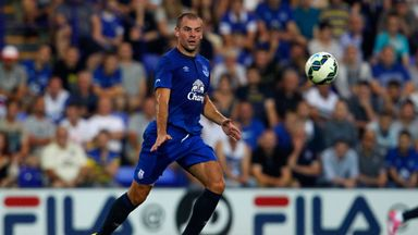 Darron Gibson: Back in action for the first time since October 2013
