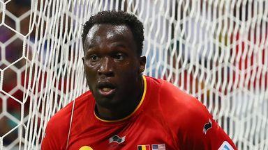 A hamstring problem will see Romelu Lukaku miss Belgium