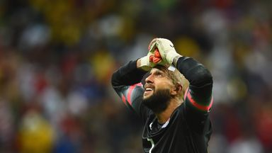 Tim Howard: Taking a break from international football with the USA.