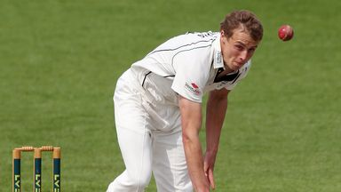 Charles Morris: Worcestershire seamer claimed 4-43