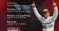 The 2014 German GP on Sky F1