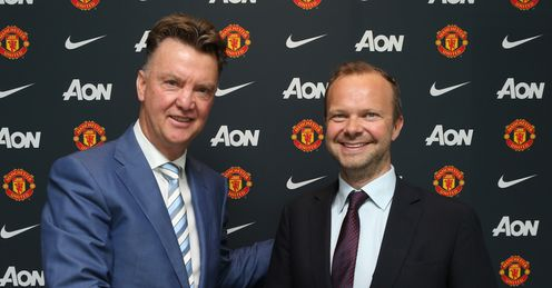 Ed Woodward (right): Claimed United are world's biggest club