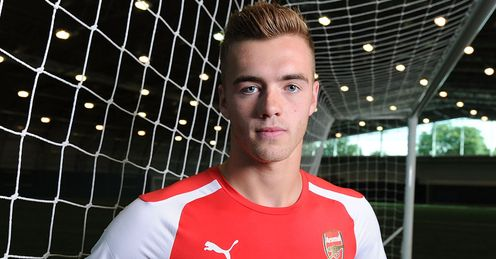 Calum Chambers: Joined Arsenal from Southampton