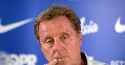 Harry Redknapp: Has launched a bizarre defence of Malky Mackay